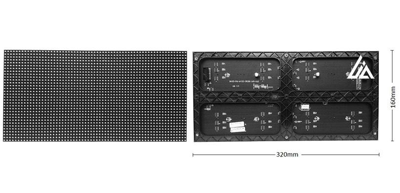 Module LED P2 trong nhà