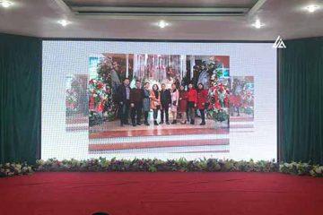 Màn hình LED P4 tại khách sạn Hoàng Gia Thanh Hoá