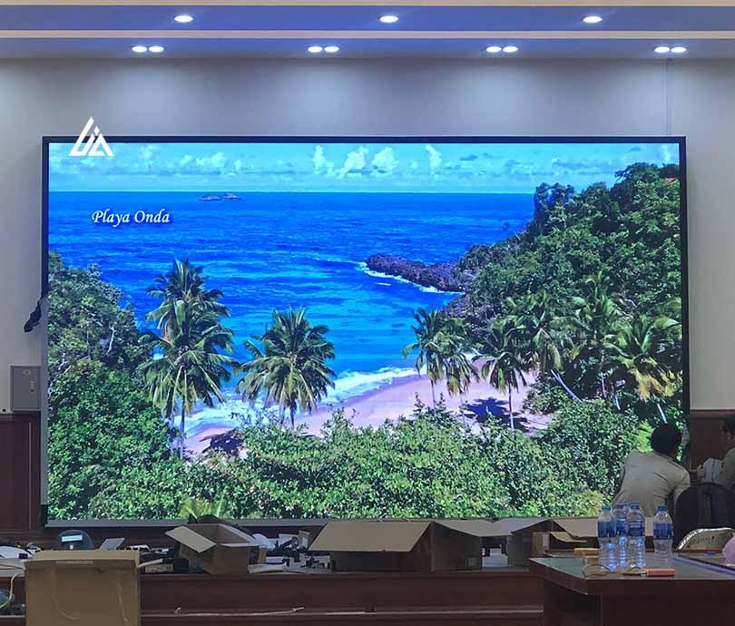 Màn hình LED P3 nhà hàng Hồng Đăng Hà Nội