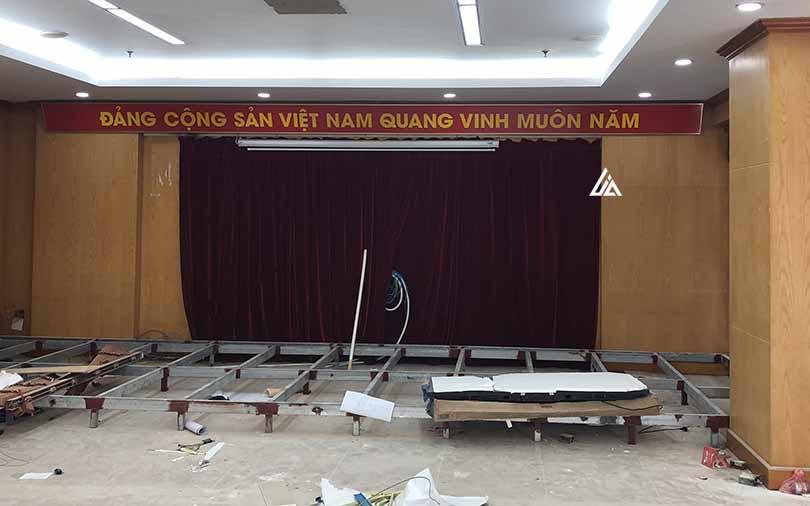 Màn hình LED P2.5 lắp đặt tại Quảng Ninh