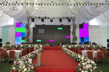 Cho thuê màn hình LED P3 tiệc cưới Thuỷ Nguyễn