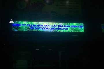 Màn hình LED P5 ngoài trời tại Vinafor Hà Nội