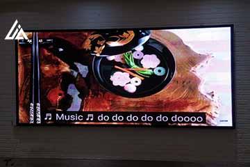 Màn hình LED P4 nhà hàng Ngọc Sơn Hà Nội